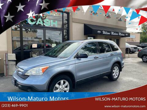 2009 Honda CR-V for sale at Wilson-Maturo Motors in New Haven CT