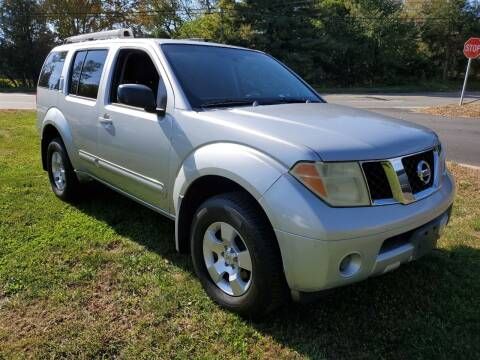 2006 Nissan Pathfinder for sale at Showcase Auto & Truck in Swansea MA