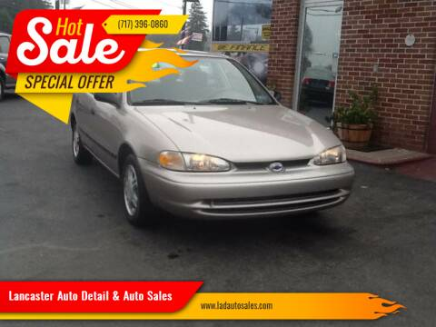 2000 Chevrolet Prizm for sale at Lancaster Auto Detail & Auto Sales in Lancaster PA