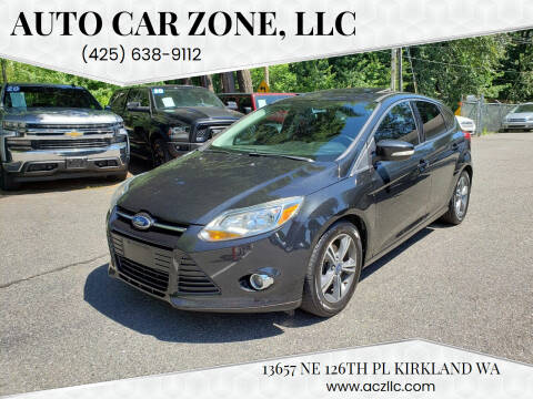 2014 Ford Focus for sale at Auto Car Zone, LLC in Kirkland WA