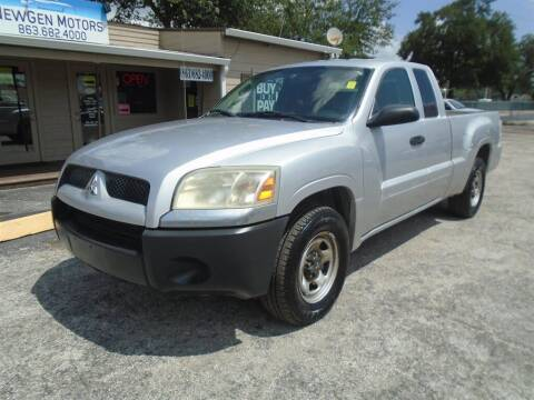 2007 Mitsubishi Raider for sale at New Gen Motors in Lakeland FL