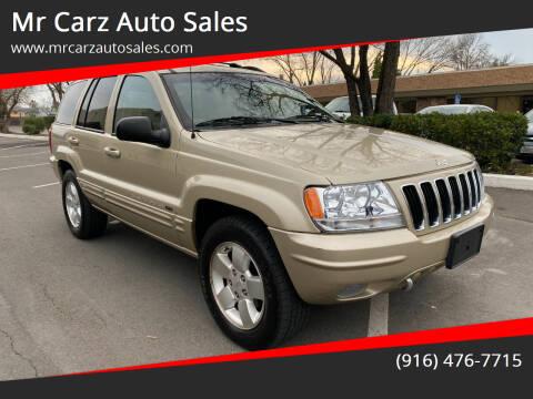 2001 Jeep Grand Cherokee for sale at Mr Carz Auto Sales in Sacramento CA