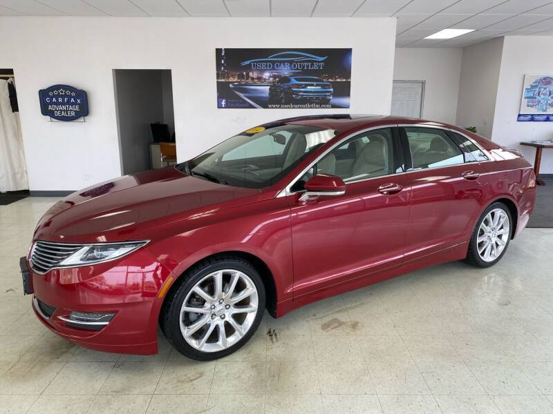 2014 Lincoln MKZ for sale at Used Car Outlet in Bloomington IL