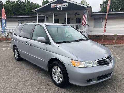 2004 Honda Odyssey for sale at CVC AUTO SALES in Durham NC