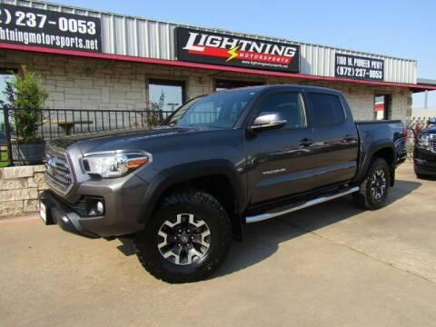 2016 Toyota Tacoma for sale at Lightning Motorsports in Grand Prairie TX