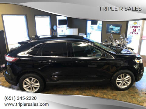 2018 Ford Edge for sale at Triple R Sales in Lake City MN