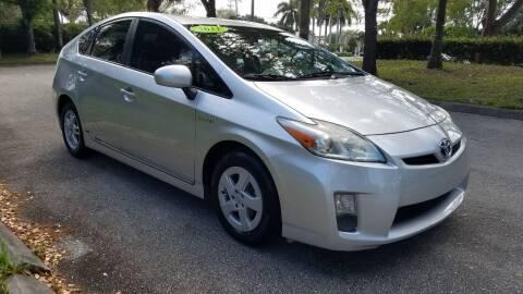 2011 Toyota Prius for sale at DELRAY AUTO MALL in Delray Beach FL