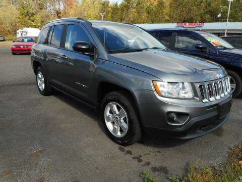 2013 Jeep Compass for sale at Automotive Toy Store LLC in Mount Carmel PA