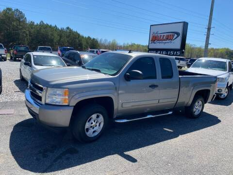 2007 Chevrolet Silverado 1500 for sale at Billy Ballew Motorsports in Dawsonville GA