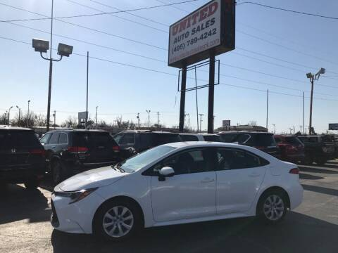2020 Toyota Corolla for sale at United Auto Sales in Oklahoma City OK