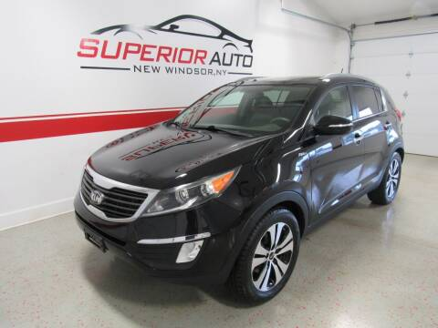 2013 Kia Sportage for sale at Superior Auto Sales in New Windsor NY