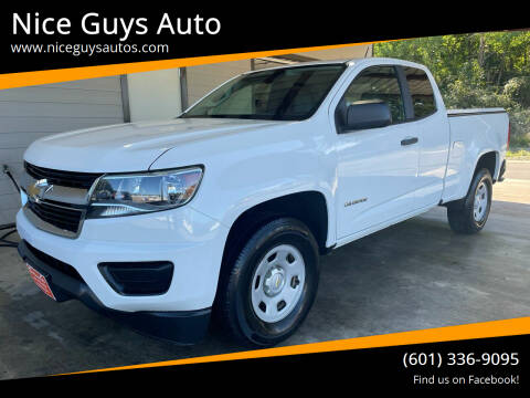 2016 Chevrolet Colorado for sale at Nice Guys Auto in Hattiesburg MS