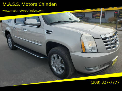 2007 Cadillac Escalade ESV for sale at M.A.S.S. Motors Chinden in Garden City ID