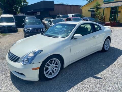 2004 Infiniti G35 for sale at Velocity Autos in Winter Park FL