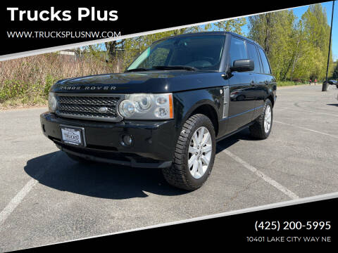2006 Land Rover Range Rover for sale at Trucks Plus in Seattle WA