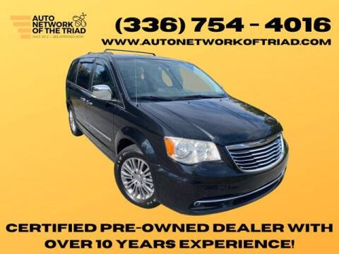 2013 Chrysler Town and Country for sale at Auto Network of the Triad in Walkertown NC
