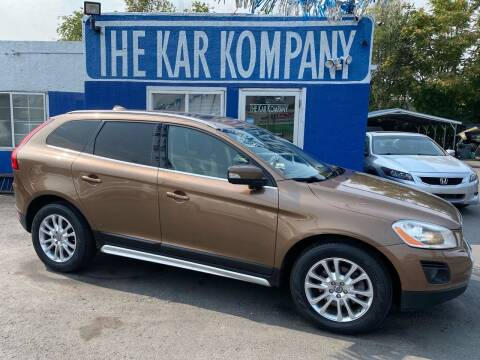 2010 Volvo XC60 for sale at The Kar Kompany Inc. in Denver CO