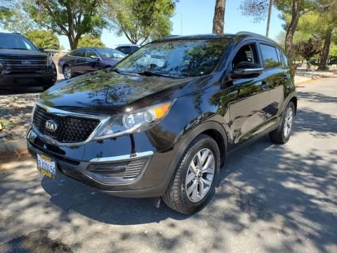 2015 Kia Sportage for sale at Matador Motors in Sacramento CA