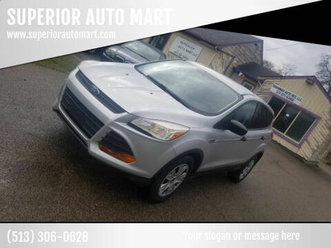 2013 Ford Escape for sale at SUPERIOR AUTO MART in Amelia OH