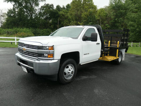 2015 Chevrolet Silverado 3500HD for sale at Woodcrest Motors in Stevens PA