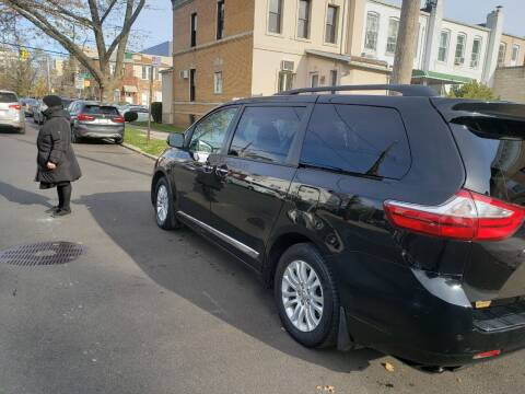 2017 Toyota Sienna for sale at A & R Auto Sales in Brooklyn NY
