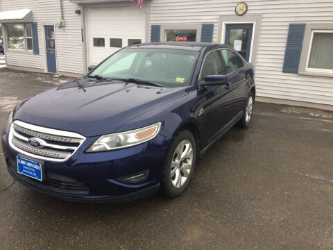 2011 Ford Taurus for sale at CLARKS AUTO SALES INC in Houlton ME
