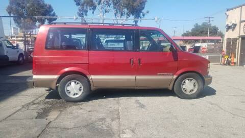 1999 Chevrolet Astro for sale at Vehicle Center in Rosemead CA