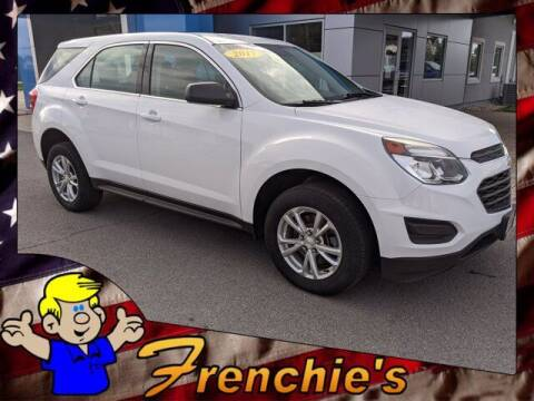 2017 Chevrolet Equinox for sale at Frenchie's Chevrolet and Selects in Massena NY