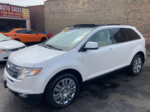2010 Ford Edge for sale at RON'S AUTO SALES INC in Cicero IL