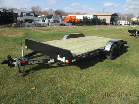 2021 Rice Trailers Equipment FMCMR8218