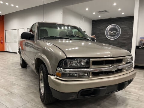 2003 Chevrolet S-10 for sale at Evolution Autos in Whiteland IN