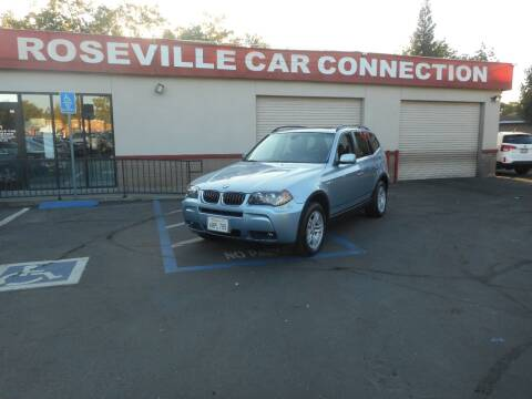 2006 BMW X3 for sale at ROSEVILLE CAR CONNECTION in Roseville CA