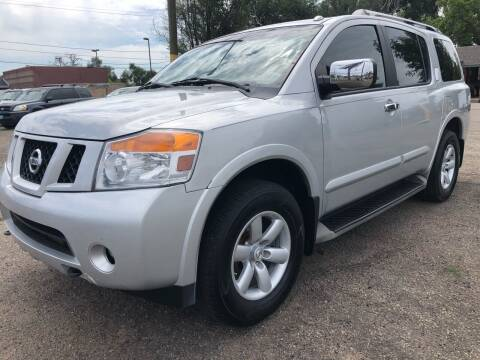 2011 Nissan Armada for sale at Martinez Cars, Inc. in Lakewood CO