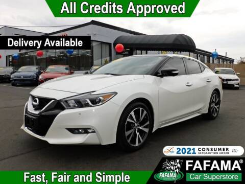 2016 Nissan Maxima for sale at FAFAMA AUTO SALES Inc in Milford MA