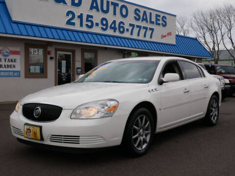 2006 Buick Lucerne for sale at B & D Auto Sales Inc. in Fairless Hills PA