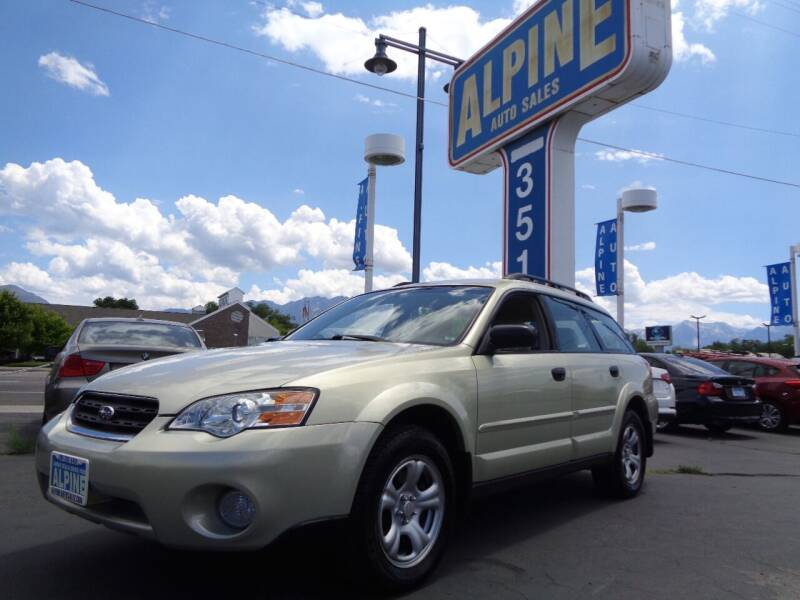 2007 Subaru Outback for sale at Alpine Auto Sales in Salt Lake City UT