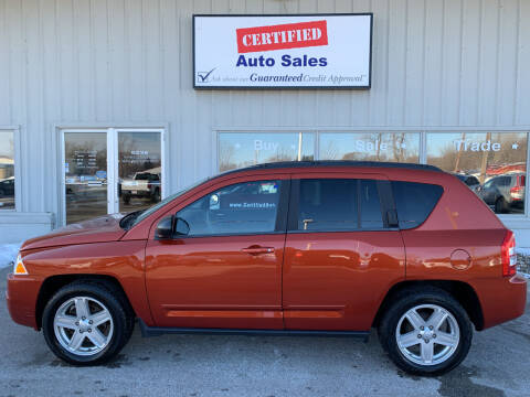 2010 Jeep Compass for sale at Certified Auto Sales in Des Moines IA