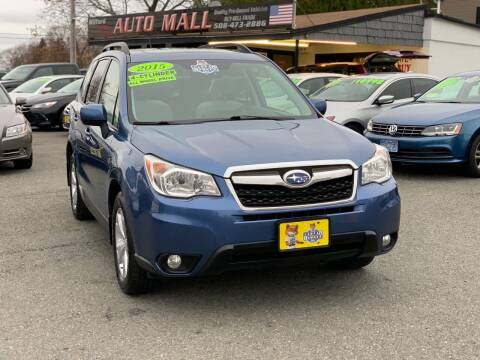2015 Subaru Forester for sale at Milford Auto Mall in Milford MA