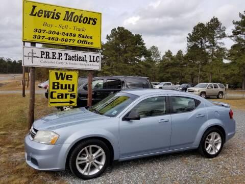 2013 Dodge Avenger for sale at Lewis Motors LLC in Deridder LA