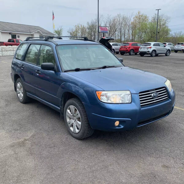 2008 Subaru Forester for sale at American & Import Automotive in Cheektowaga NY