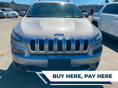 2016 Jeep Cherokee for sale at Auto Credit Xpress - Sherwood in Sherwood AR