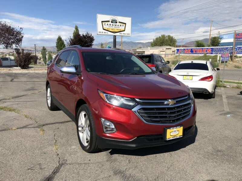 2019 Chevrolet Equinox for sale at CarSmart Auto Group in Murray UT