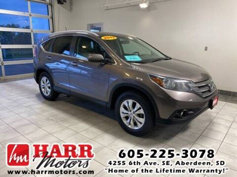 2013 Honda CR-V for sale at Harr's Redfield Ford in Redfield SD