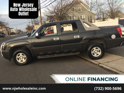 2005 Chevrolet Avalanche for sale at New Jersey Auto Wholesale Outlet in Union Beach NJ