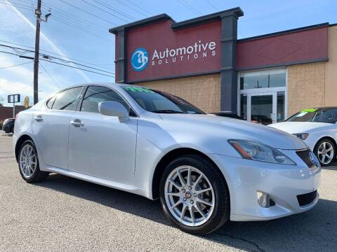 2007 Lexus IS 250 for sale at Automotive Solutions in Louisville KY