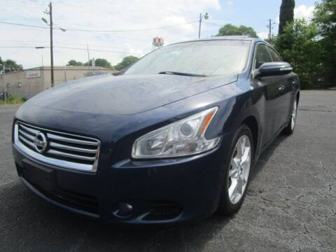 2012 Nissan Maxima for sale at Lewis Page Auto Brokers in Gainesville GA