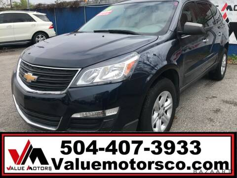 2016 Chevrolet Traverse for sale at Value Motors Company in Marrero LA