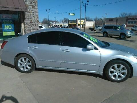 2007 Nissan Maxima for sale at NORTHWEST MOTORS in Enid OK