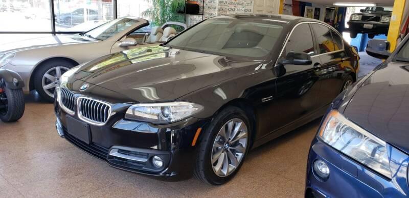 2016 BMW 5 Series for sale at International Motors in San Pedro CA