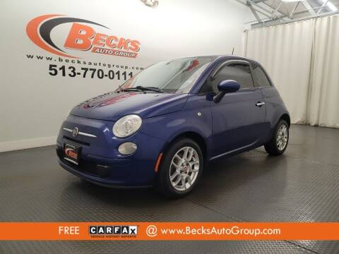 2012 FIAT 500 for sale at Becks Auto Group in Mason OH